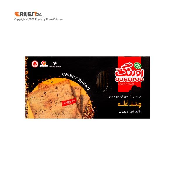 نان سنتی کاک اورنگ حاوی آرد جو دوسر چندغله وزن 450 گرم عکس استفاده شده در سایت ارنست 24 - ernest24.com