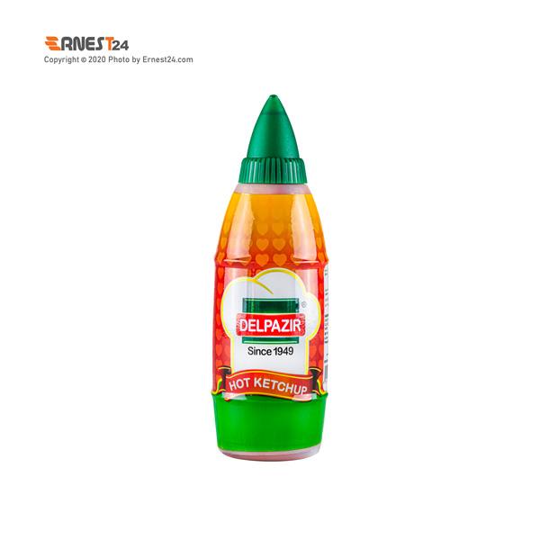 سس گوجه فرنگی تند دلپذیر وزن 454 گرم نمای پشت کالا عکس استفاده شده در سایت ارنست 24 - ernest24.com