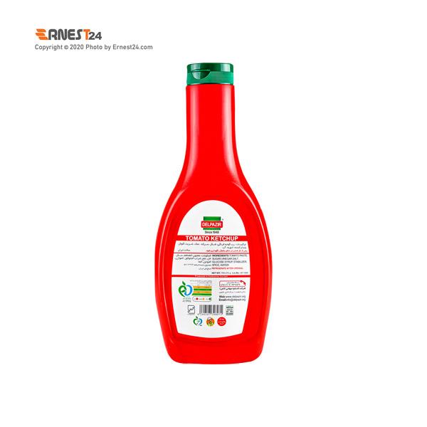 سس گوجه فرنگی دلپذیر وزن 709 گرم نمای پشت کالا عکس استفاده شده در سایت ارنست 24 - ernest24.com