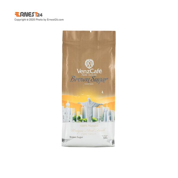 شکر قهوه ای ونزکافه وزن 250 گرم عکس استفاده شده در سایت ارنست 24 - ernest24.com
