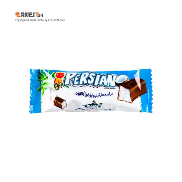 شکلات مغزدار نارگیلی با روکش کاکائویی پرشین مینو وزن 18 گرم عکس استفاده شده در سایت ارنست 24 - ernest24.com