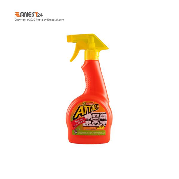 اسپری پاک کننده گاز اتک حجم 500 میلی لیتر عکس استفاده شده در سایت ارنست 24 - ernest24.com