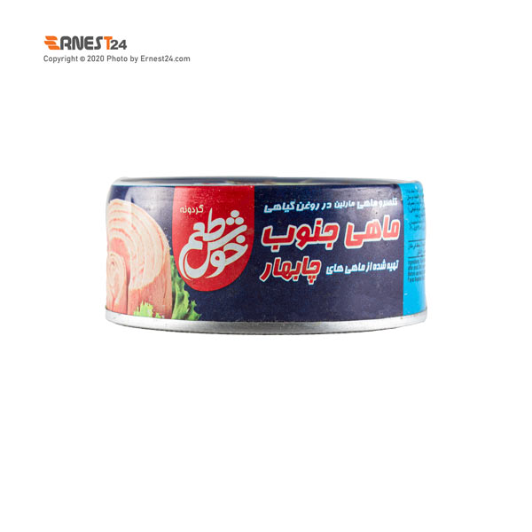 کنسرو تن ماهی جنوب در روغن گیاهی خوش طعم وزن 120 گرم عکس استفاده شده در سایت ارنست 24 - ernest24.com