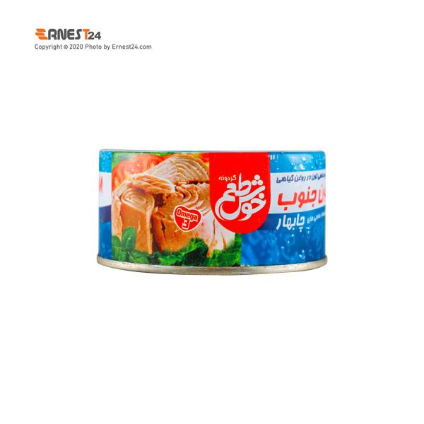 کنسرو تن ماهی جنوب در روغن گیاهی خوش طعم وزن 180 گرم عکس استفاده شده در سایت ارنست 24 - ernest24.com