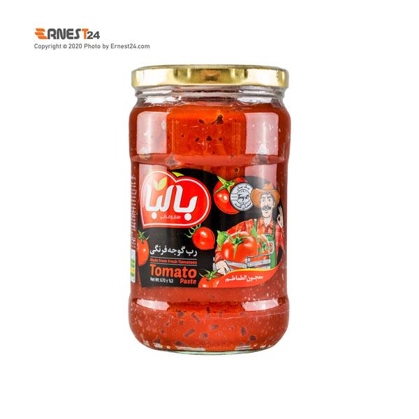 رب گوجه فرنگی بالبا وزن 670 گرم عکس استفاده شده در سایت ارنست 24 - ernest24.com