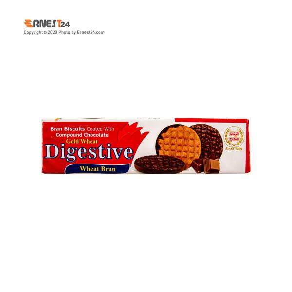 بیسکویت سبوس دار با روکش کاکائویی ویتانا وزن 175 گرم عکس استفاده شده در سایت ارنست 24 - ernest24.com