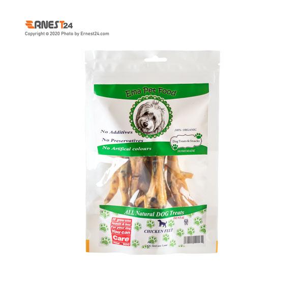 غذای تشویقی سگ پای مرغ اِما پت فود عکس استفاده شده در سایت ارنست 24 - ernest24.com
