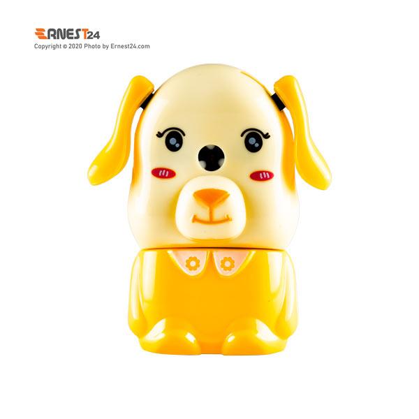 مداد تراش رومیزی عروسکی رنگ زرد عکس استفاده شده در سایت ارنست 24 - ernest24.com