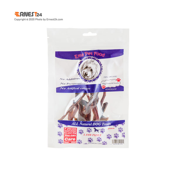غذای تشویقی سگ نرینگی بره اِما پت فود وزن 80 گرم عکس استفاده شده در سایت ارنست 24 - ernest24.com