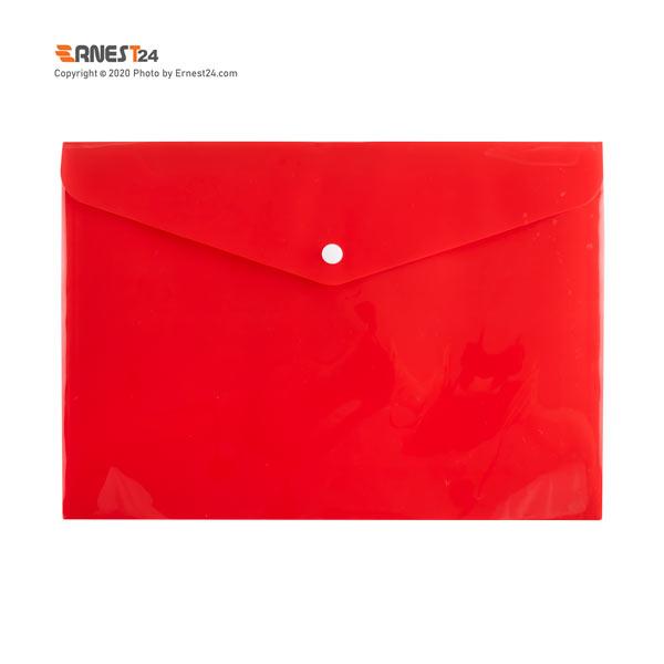پوشه دکمه دار مات پاپکو رنگ قرمز عکس استفاده شده در سایت ارنست 24 - ernest24.com