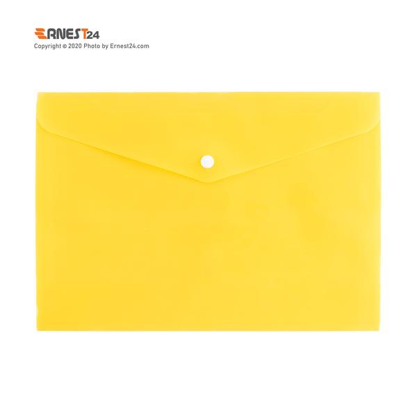 پوشه دکمه دار مات پاپکو رنگ زرد عکس استفاده شده در سایت ارنست 24 - ernest24.com