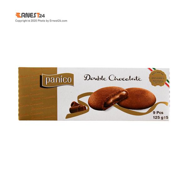بیسکویت کاکائویی با مغزی کرم کاکائویی پانیکو ویتانا وزن 125 گرم عکس استفاده شده در سایت ارنست 24 - ernest24.com