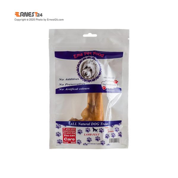 غذای تشویقی سگ پاچه بره متوسط اِما پت فود عکس استفاده شده در سایت ارنست 24 - ernest24.com