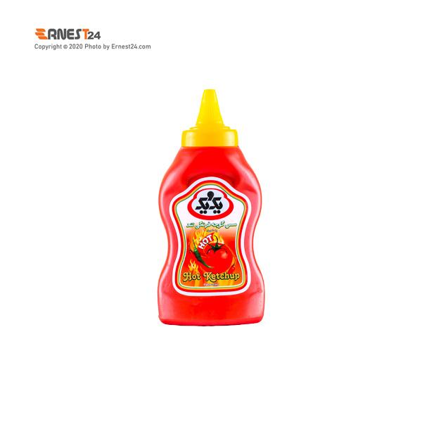 سس گوجه فرنگی تند یک و یک وزن 320 گرم عکس استفاده شده در سایت ارنست 24 - ernest24.com