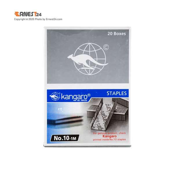 سوزن منگنه کانگرو سایز 10 بسته بندی 20000 عددی عکس استفاده شده در سایت ارنست 24 - ernest24.com