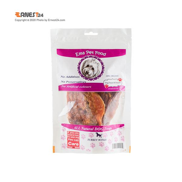 غذای تشویقی سگ کتف و بال بوقلمون اِما پت فود عکس استفاده شده در سایت ارنست 24 - ernest24.com