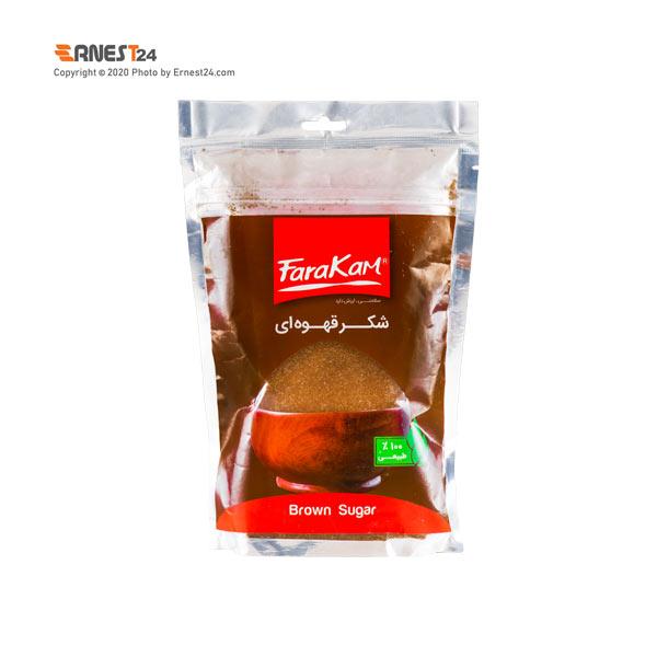شکر قهوه ای فراکام وزن 500 گرم عکس استفاده شده در سایت ارنست 24 - ernest24.com