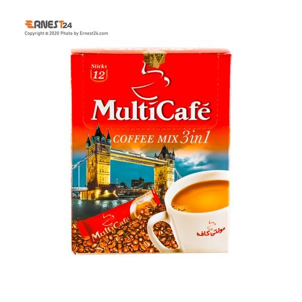 پودر کاپوچینو مولتی کافه بسته 12 عددی عکس استفاده شده در سایت ارنست 24 - ernest24.com