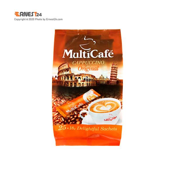 پودر کاپوچینو مولتی کافه بسته 25 عددی عکس استفاده شده در سایت ارنست 24 - ernest24.com