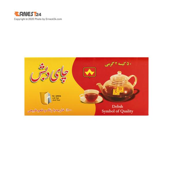 چای سیاه کیسه ای خارجی دبش 50 عددی عکس استفاده شده در سایت ارنست 24 - ernest24.com