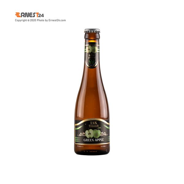نوشیدنی گازدار با طعم سیب تاک بهنوش حجم 280 میلی لیتر عکس استفاده شده در سایت ارنست 24 - ernest24.com