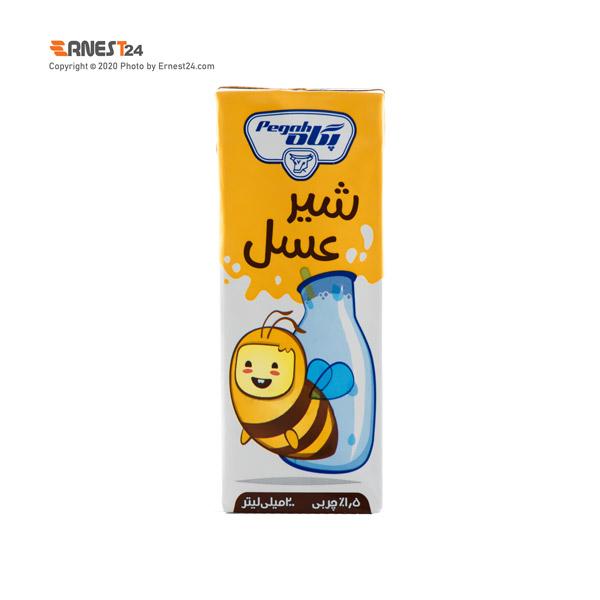 شیر عسل پگاه حجم 200 میلی لیتر عکس استفاده شده در سایت ارنست 24 - ernest24.com
