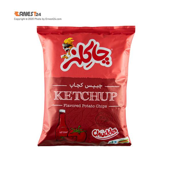 چیپس کچاپ چاکلز وزن 55 گرم عکس استفاده شده در سایت ارنست 24 - ernest24.com