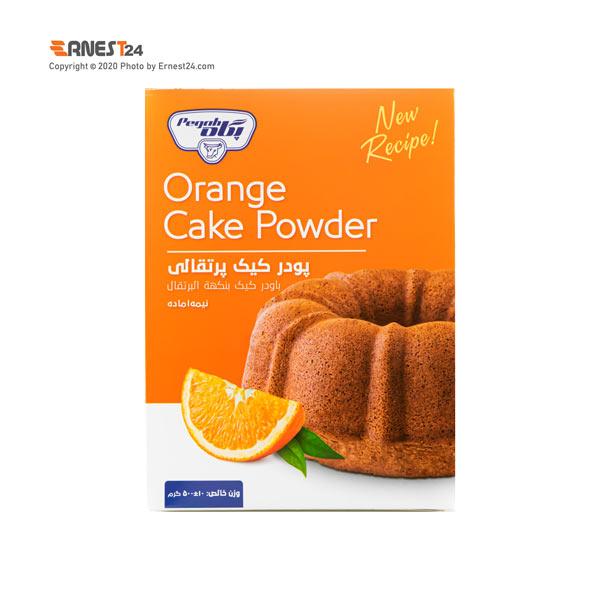 پودر کیک پرتقالی پگاه وزن 500 گرم عکس استفاده شده در سایت ارنست 24 - ernest24.com