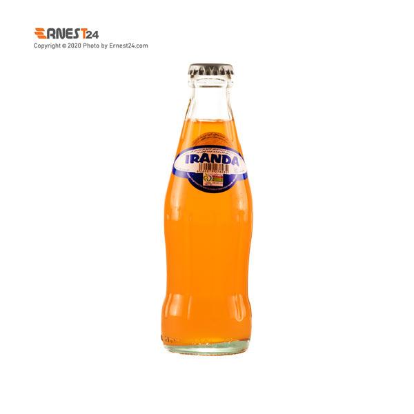 نوشابه گازداربا طعم پرتقال ایراندا حجم 200 میلی لیتر عکس استفاده شده در سایت ارنست 24 - ernest24.com