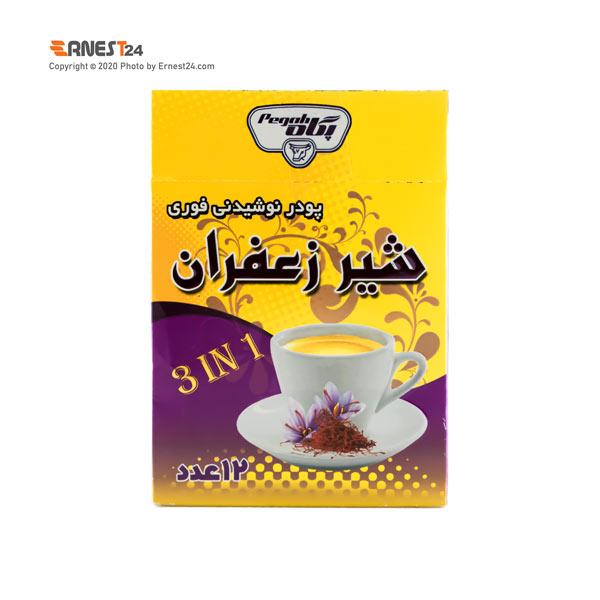 پودر شیر زعفران پگاه 12 عددی عکس استفاده شده در سایت ارنست 24 - ernest24.com
