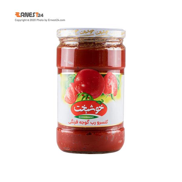 رب گوجه فرنگی خوشبخت وزن 700 گرم عکس استفاده شده در سایت ارنست 24 - ernest24.com