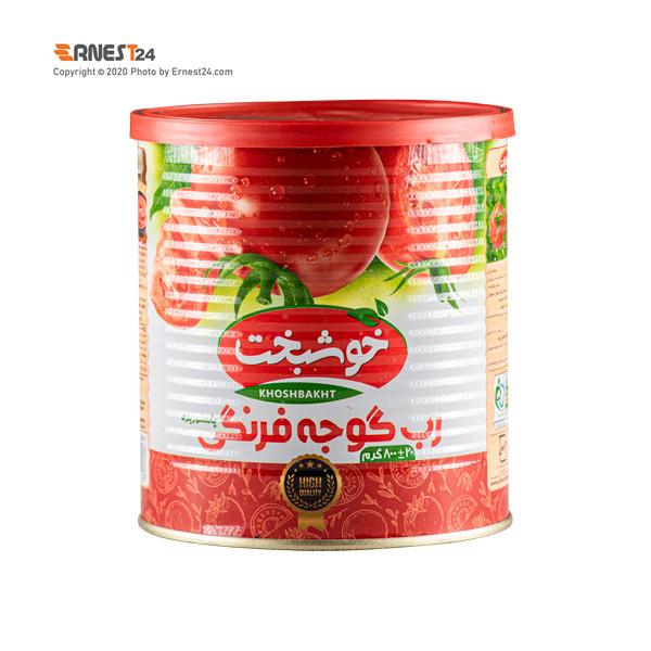 رب گوجه فرنگی خوشبخت وزن 800 گرم عکس استفاده شده در سایت ارنست 24 - ernest24.com