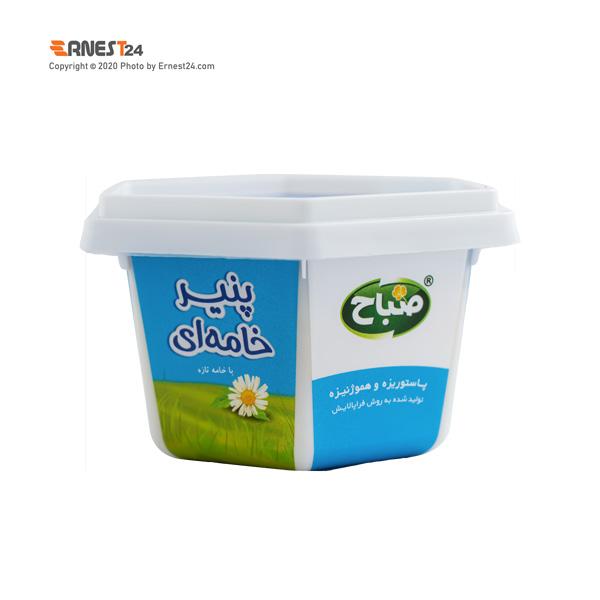 پنیر خامه ای صباح وزن 150 گرم عکس استفاده شده در سایت ارنست 24 - ernest24.com