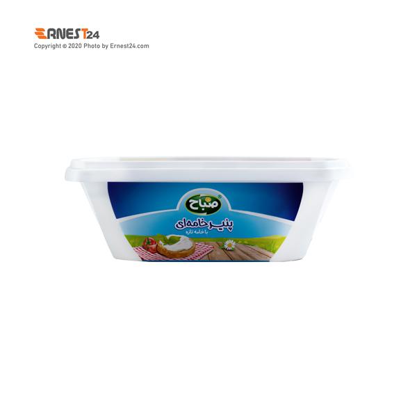 پنیر خامه ای صباح وزن 350 گرم عکس استفاده شده در سایت ارنست 24 - ernest24.com