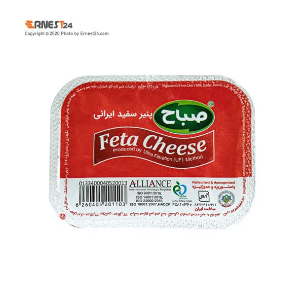 پنیر سفید صباح وزن 100 گرم عکس استفاده شده در سایت ارنست 24 - ernest24.com