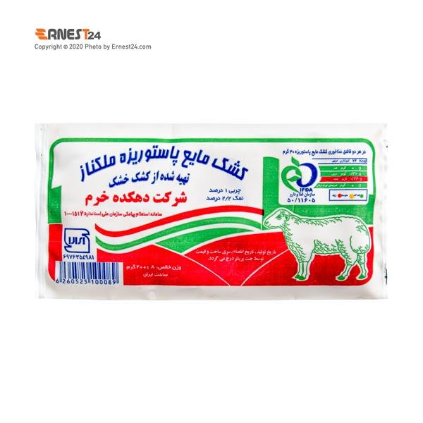 کشک مایع ملکناز دهکده خرم وزن 200 گرم عکس استفاده شده در سایت ارنست 24 - ernest24.com