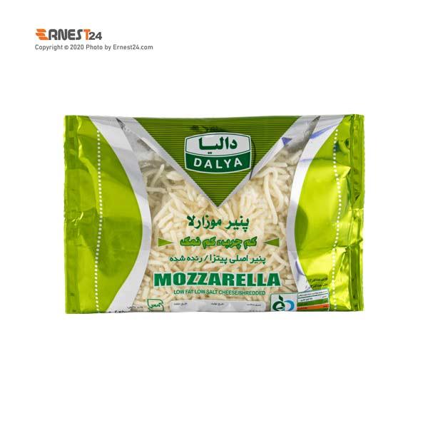 پنیر پیتزا موزارلا کم چرب و کم نمک دالیا وزن 250 گرم عکس استفاده شده در سایت ارنست 24 - ernest24.com
