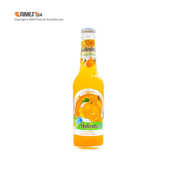 آبمیوه گازدار با طعم پرتقال موز هوفنبرگ حجم 330 میلی لیتر عکس استفاده شده در سایت ارنست 24 - ernest24.com