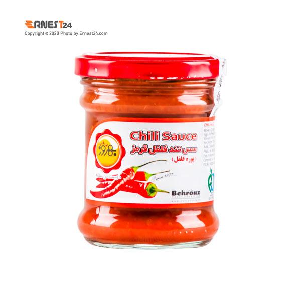 سس فلفل قرمز تند بهروز وزن 170 گرم عکس استفاده شده در سایت ارنست 24 - ernest24.com