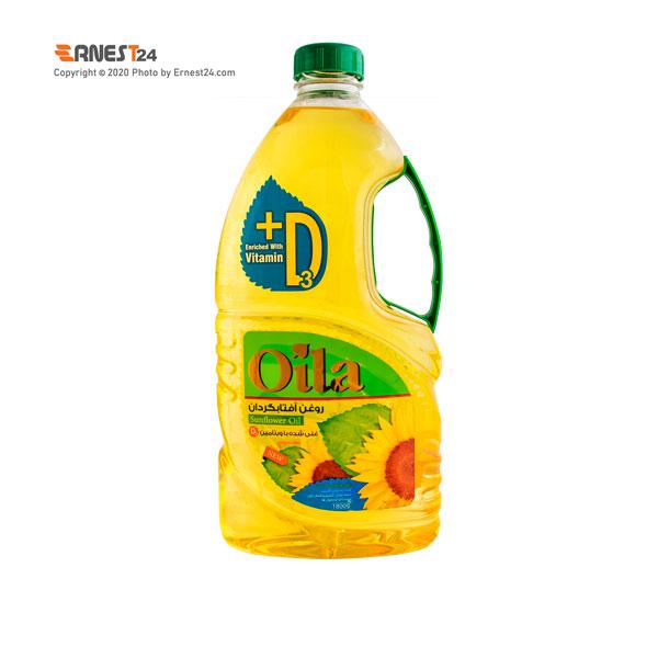 روغن آفتابگردان غنی شده با ویتامین D اویلا حجم 2 لیتر عکس استفاده شده در سایت ارنست 24 - ernest24.com
