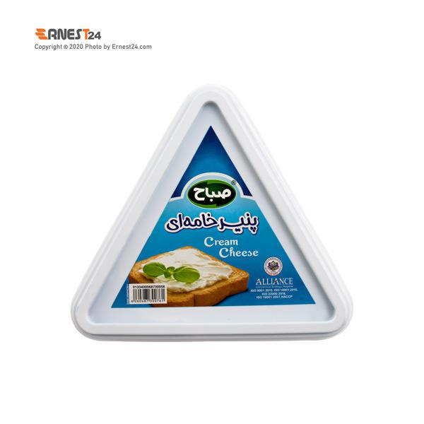 پنیر خامه ای مثلثی صباح وزن 100 گرم عکس استفاده شده در سایت ارنست 24 - ernest24.com