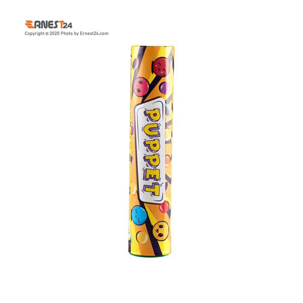 دراژه شکلاتی پاپت فرمند طرح لوله ای وزن 20 گرم عکس استفاده شده در سایت ارنست 24 - ernest24.com
