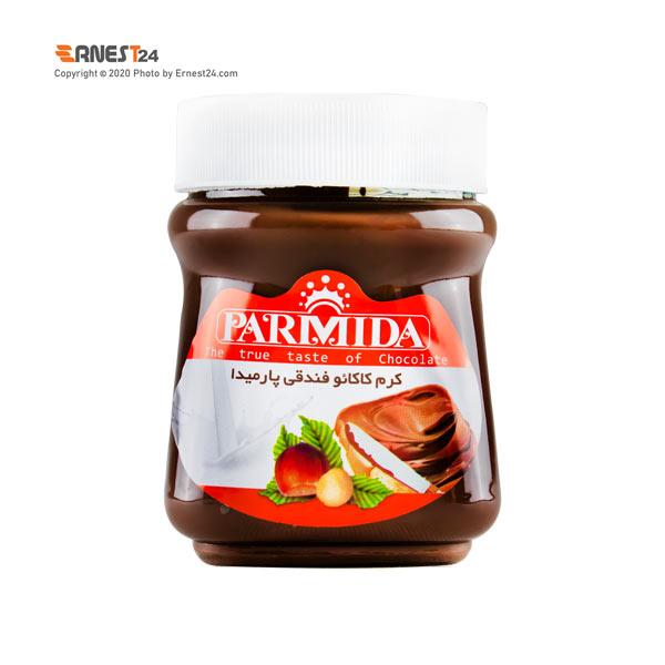 شکلات صبحانه فندقی پارمیدا وزن 400 گرم عکس استفاده شده در سایت ارنست 24 - ernest24.com