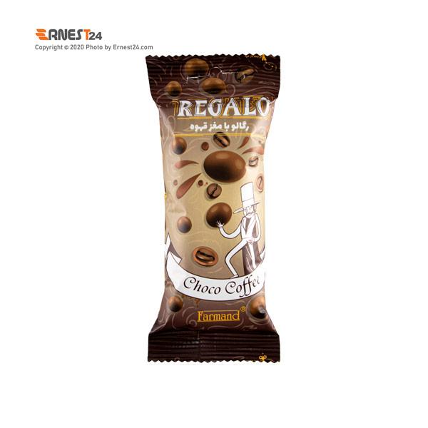 دراژه کاکائویی با مغز قهوه رگالو وزن 30 گرم عکس استفاده شده در سایت ارنست 24 - ernest24.com