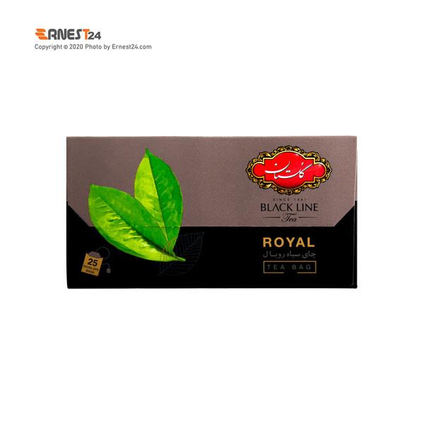 چای سیاه کیسه ای رویال گلستان 25 عددی عکس استفاده شده در سایت ارنست 24 - ernest24.com