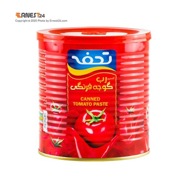 رب گوجه فرنگی تحفه با درب آسان بازشو وزن 800 گرم عکس استفاده شده در سایت ارنست 24 - ernest24.com