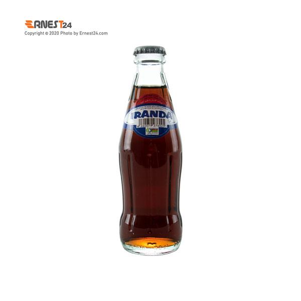 نوشابه گازدار با طعم کولا ایراندا حجم ۲۰۰ میلی لیتر عکس استفاده شده در سایت ارنست 24 - ernest24.com