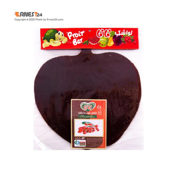 لواشک سیب و زرشک فافا طرح سیب وزن 50 گرم عکس استفاده شده در سایت ارنست 24 - ernest24.com