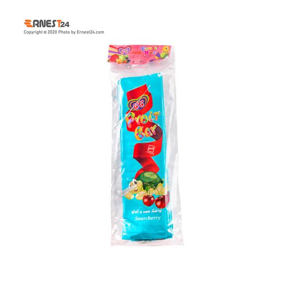 لواشک سیب و آلبالو فافا مدل Fruit Bar بسته 20 عددی عکس استفاده شده در سایت ارنست 24 - ernest24.com