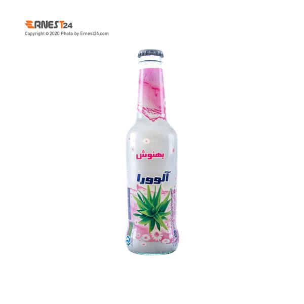 نوشیدنی بدون گاز با طعم آلوئه ورا بهنوش حجم ۲۵۰ میلی لیتر عکس استفاده شده در سایت ارنست 24 - ernest24.com